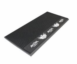 TAPIS DE BAR NOIR LOGO BAR